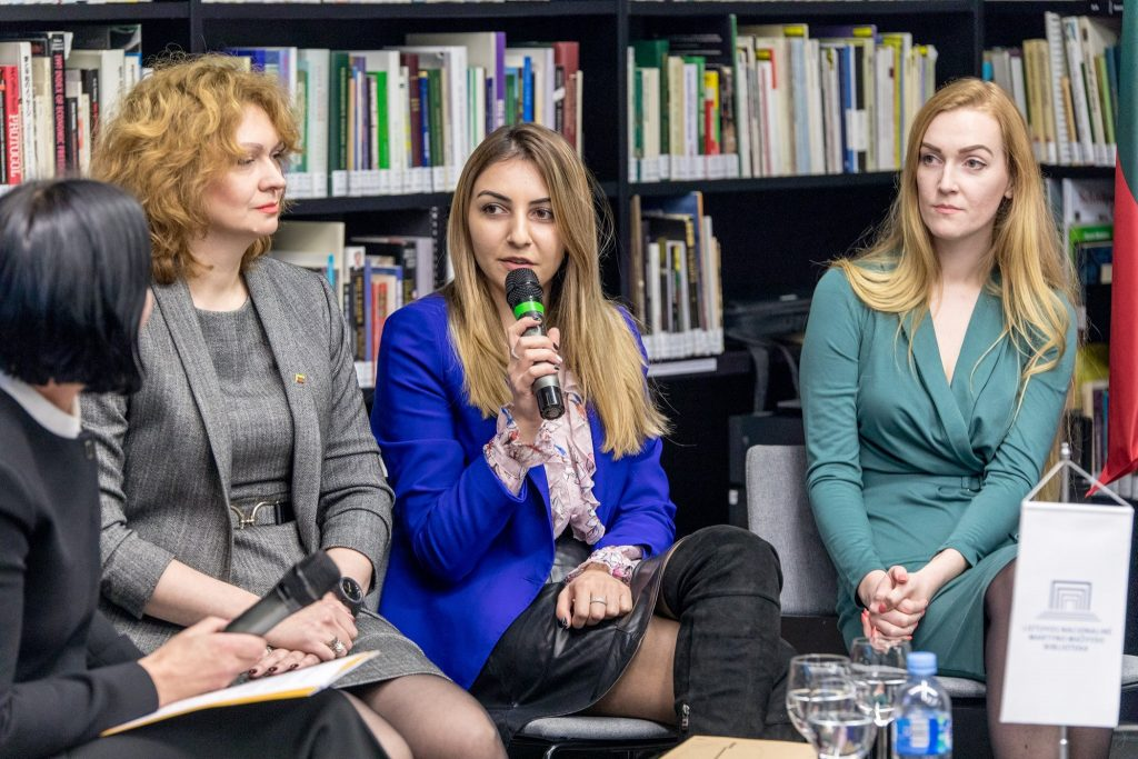 International student Sophio Tabatadze from Georgia speaks about her experience in Lithuania