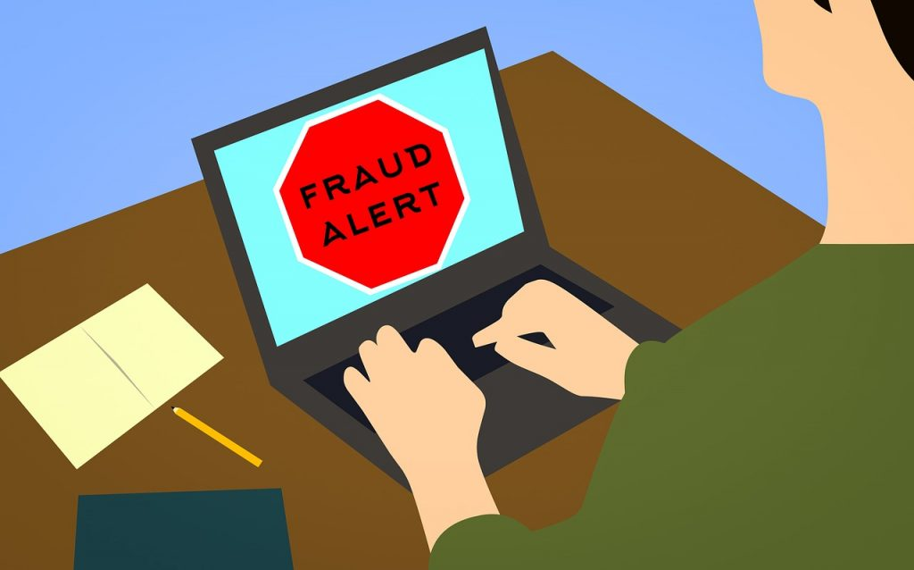 Fraud alert illustration