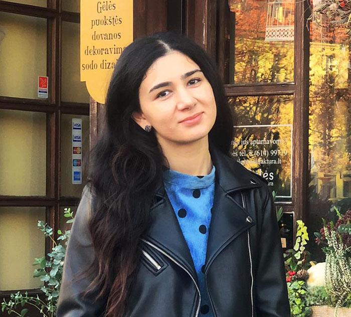 Nazrin from Azerbaijan