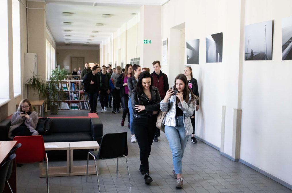 KTU hallway