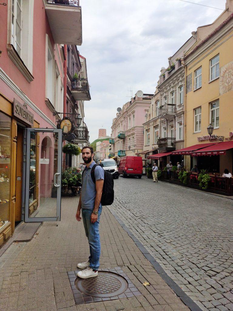 Kostas in Vilnius