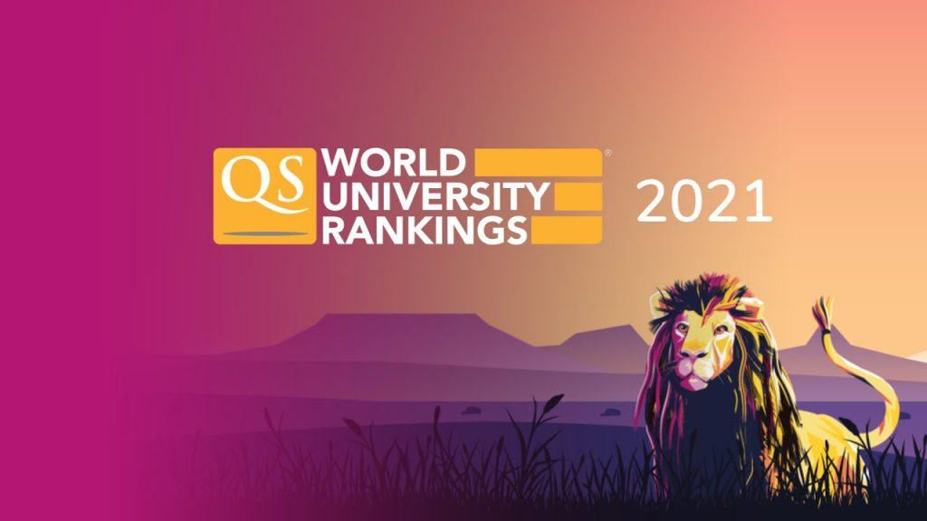 QS World University Rankings visual