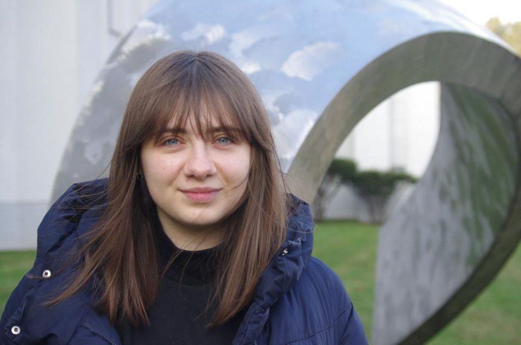 Oleksandra Kyryliuk, ukrainian student from MRU