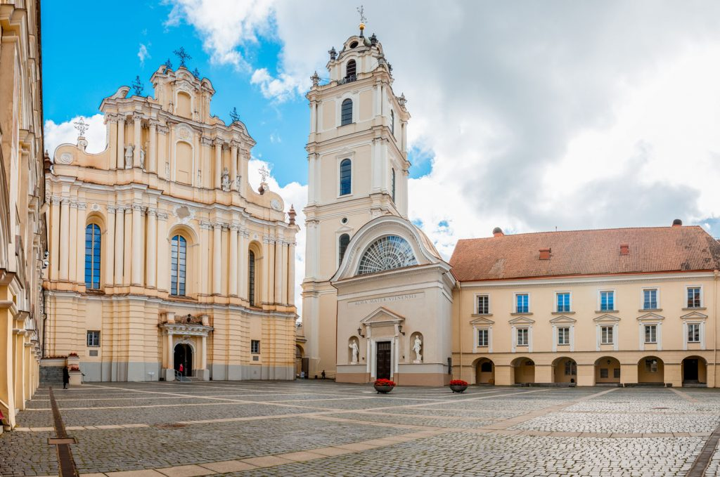 Vilnius University campus