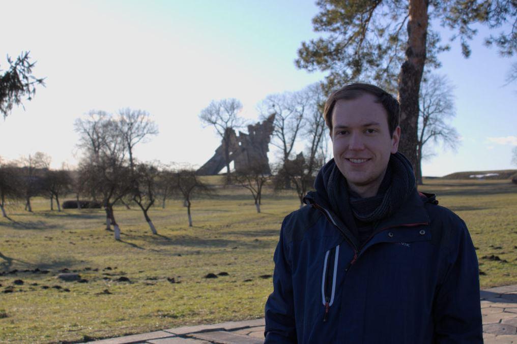 Erik Schake from Trier, Germany, student at Kaunas University of Technology